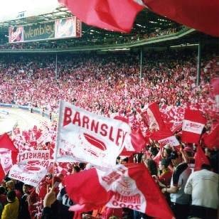 ON THIS DAY 2000: Barnsley at Wembley for the Play Off Final against Ipswich Town #Barnsleyfc