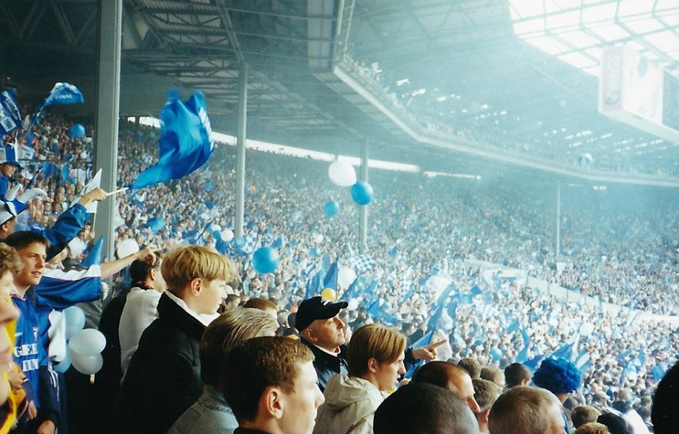 ON THIS DAY 2000: Ipswich Town at Wembley for the Play Off Final against Barnsley #ITFC
