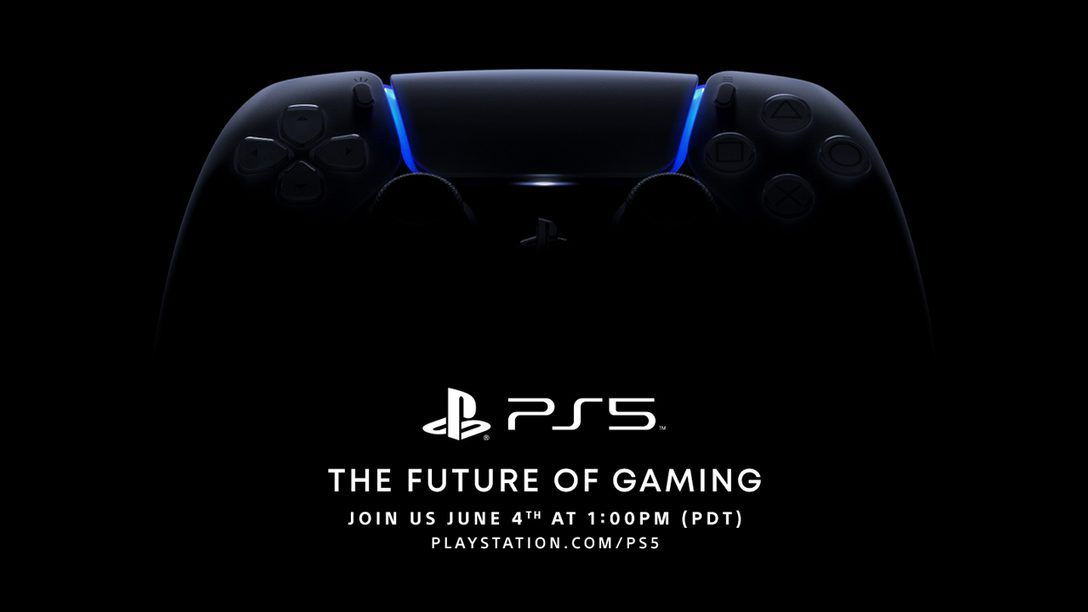 Sony announces PS5 event for June 4th