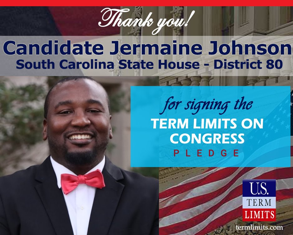 Thank you @Dr_JLJohnson for signing the #termlimits on Congress pledge.