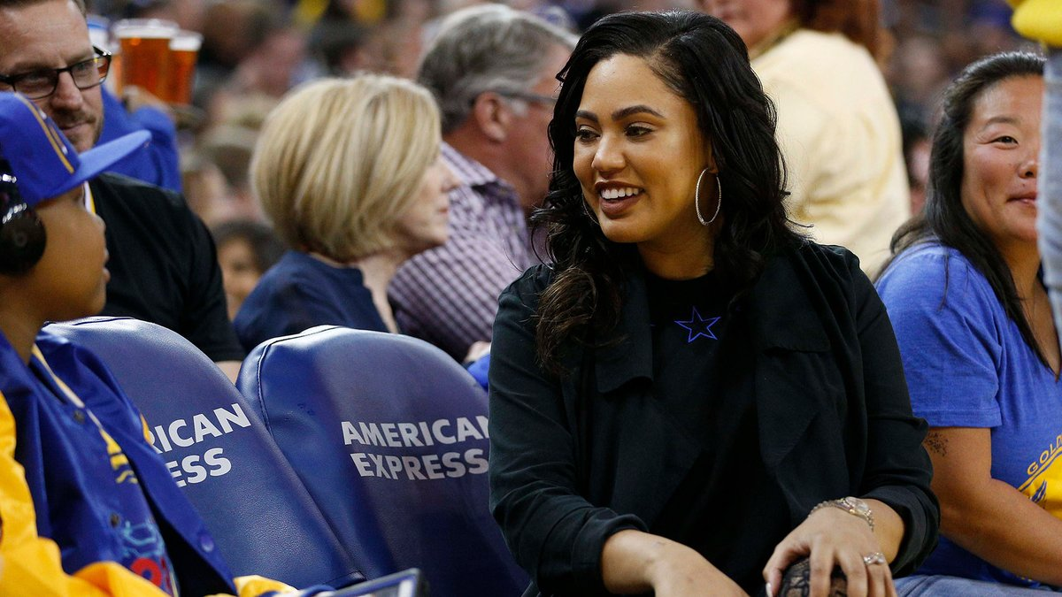 """Ayesha Curry joined the millions of citizens condemning President Donald Trump's tweets calling the protesters in Minneapolis """"THUGS"""" and seemingly threatening violence against them https://t.co/TPMardVqAt https://t.co/ryzK078UJR"""