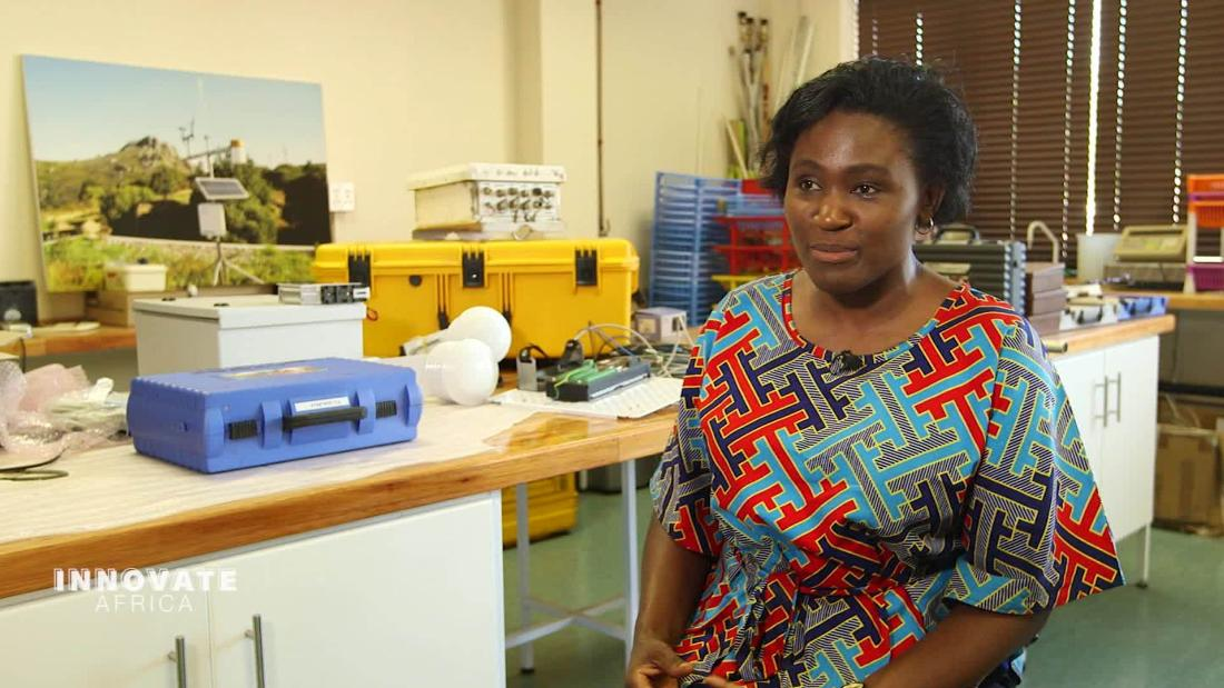 Kenyan scientist Muthoni Masinde created an app that is combining weather station data with the traditional knowledge of African farmers to predict droughts Read more ➡️ cnn.it/2XbnUgS