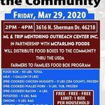 Image for the Tweet beginning: Food distribution opportunity for families