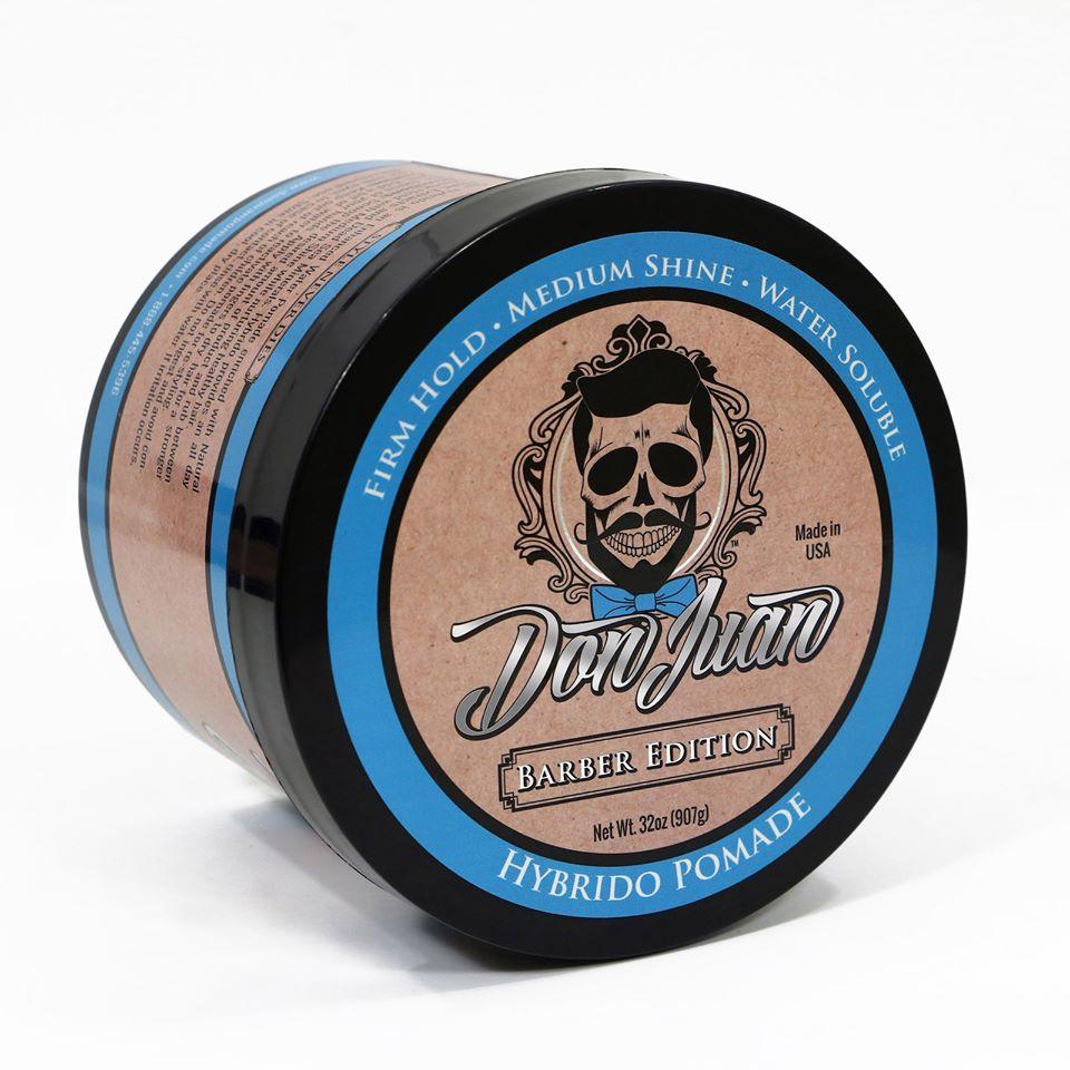 The Perfect Barber's Choice: Don Juan Hybrido Barber Edition Pomade 32oz! #donjuanpomade #donjuanpomadeusa #styleneverdies #usa #americana #pomade #hairproducts #mensgrooming #menstyle #americansalon #masterbarbermagazine #cprbarbers #modernsalon  https://www.donjuanpomade.com/shop/hybrido-barber-edition-pomade-32oz/…pic.twitter.com/KR3PeLnTAU