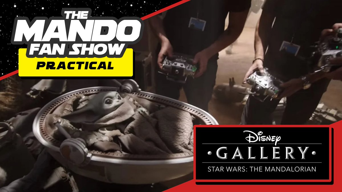 NEW EPISODE of #TheMandoFanShow!  We have a great discussion on episode 5 of #TheMandalorian documentary on the practical effects of the series including IG-11 and of course, #BabyYoda.  The base is OPEN! Available on all podcast apps and here on YouTube:  https://www.youtube.com/watch?v=Hkhi4VDx6cw&feature=youtu.be…pic.twitter.com/DFYv3v76IW