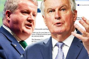 Was Ian Blackford positively vetted before being admitted to the Privy Council? And will he keep his vetting status after being caught plotting to sell out Britain to the EU? I think we should be told. #treason #Brexit #EUtradedeal<br>http://pic.twitter.com/ciGdQQqoi8