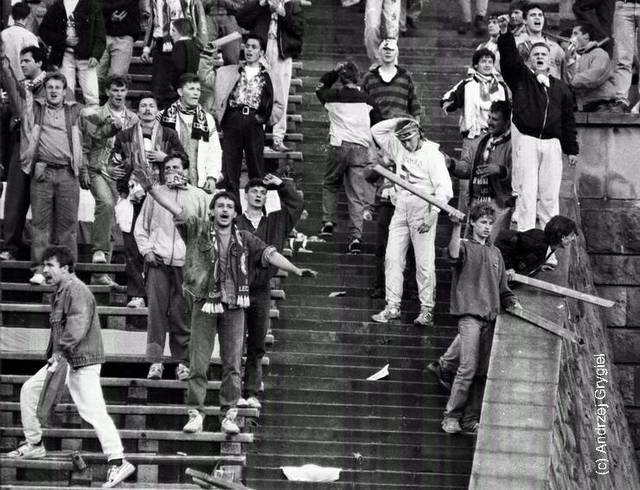 ON THIS DAY 1993: Poland riot at home to England, launching anything they could into the England end