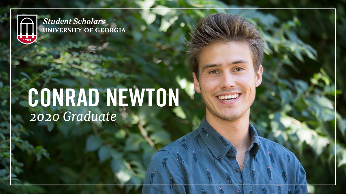 With degrees in International Affairs and Classics under his belt, new #UGAgrad and Public Service & Outreach Student Scholar (and @BotGardenGA intern) Conrad Newton is now studying for the LSAT with his eyes on continuing his education in law school! Good luck Conrad! #UGA20 https://t.co/VQfhvSWFBs