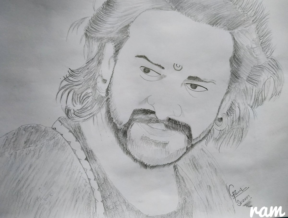Quarantine has given me a lot of time to get back into drawing  lovely to draw darling picture #PrabhasRaju #Bahubali2 #Prabhas20 #Darling #prabhas #prabhasdrawing #Prabhascutouts #Bahubali #sahopic.twitter.com/TYrwJc6WwK