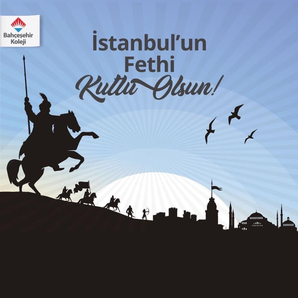 Bir çağ kapatıp bir başka çağ açan İstanbul'un Fethi'nin 567. yılı kutlu olsun. #29Mayıs1453 https://t.co/WrWaeJOhQ0