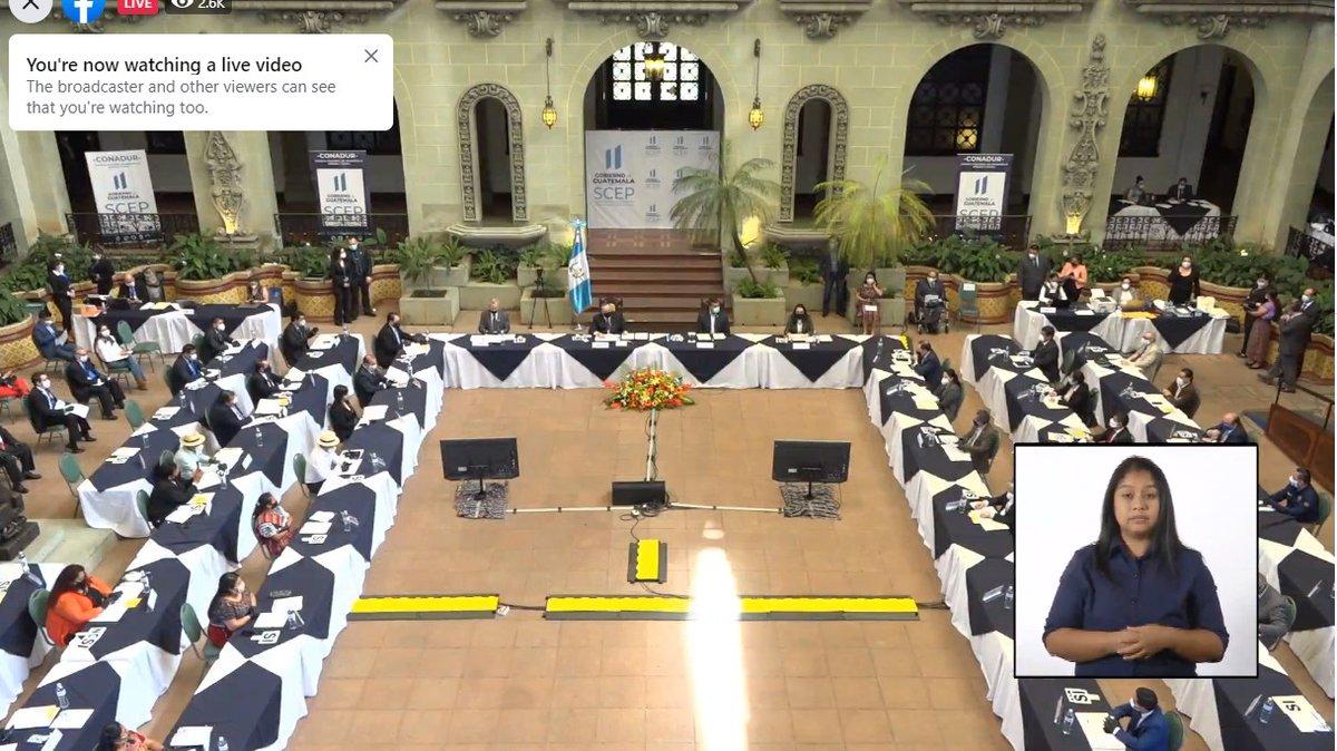 test Twitter Media - Hoy se lleva a cabo la reunión del Consejo Nacional de Desarrollo Urbano y Rural, (Conadur).  La misma es presidida por el presidente Alejandro Giammattei. https://t.co/ndF6oBKwBv