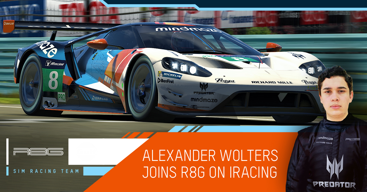 Welcome in the team @Alex_Wolters16 I'm looking forward to get many more practice sessions and race together