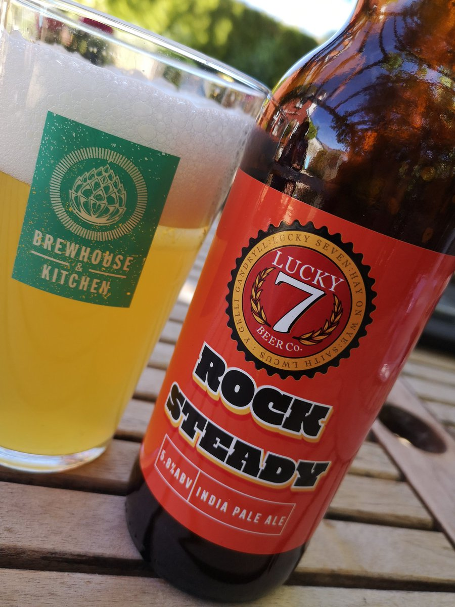 @Lucky7Beer Cheers Luke loving this one👍👍 #FreshBeer #Supportyourlocalbrewer #HayonWye https://t.co/q2TcCS19rE