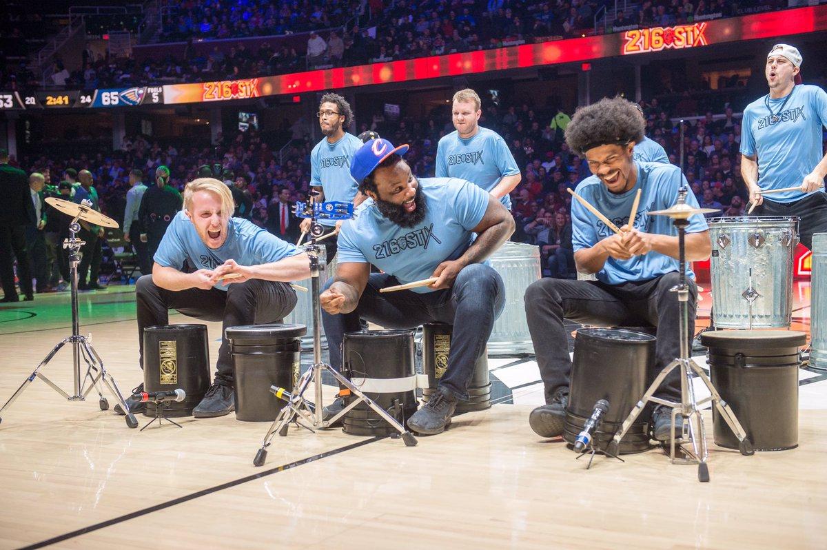 RT @cavs:  *** RT @Cavs216Stix: #TGIF 👏 #WeekendMood #216Stix #GoCavs #BeTheFight https://t.co/NERLmtvuwf #Cleveland #CAVS #AllForOne  #LeBronJames #StriveForGreatness #NBA #NBAAllStar #TeamLeBron https://t.co/sITpp0SYa7