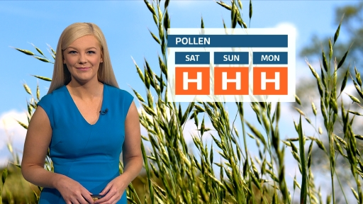 Pollen count: High levels of grass pollen in warm and sunny conditions bit.ly/2XKbbAD