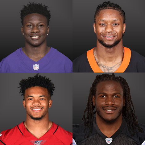 Hollywood Brown, Joe Mixon, Kyler Murray and Jamaal Charles grab the controllers to see who will be crowned champion of the @EAMaddenNFL Invitational 🎮 Rachel Bonnetta and Chris Myers host the @EASPORTS event raising awareness for @FeedingAmerica tonight at 10:00 PM ET on FS1.