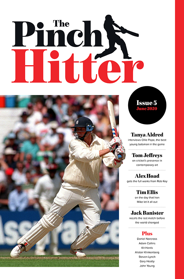 Giving it a slap in issue No.5 of the Pinch Hitter: – @tjaldred interviews @OPope32 – @AlexHoadSport catches up with @robkey612 – @Timotei365 on the day @Athersmike opened his shoulders thenightwatchman.net/pinch-hitter/i…