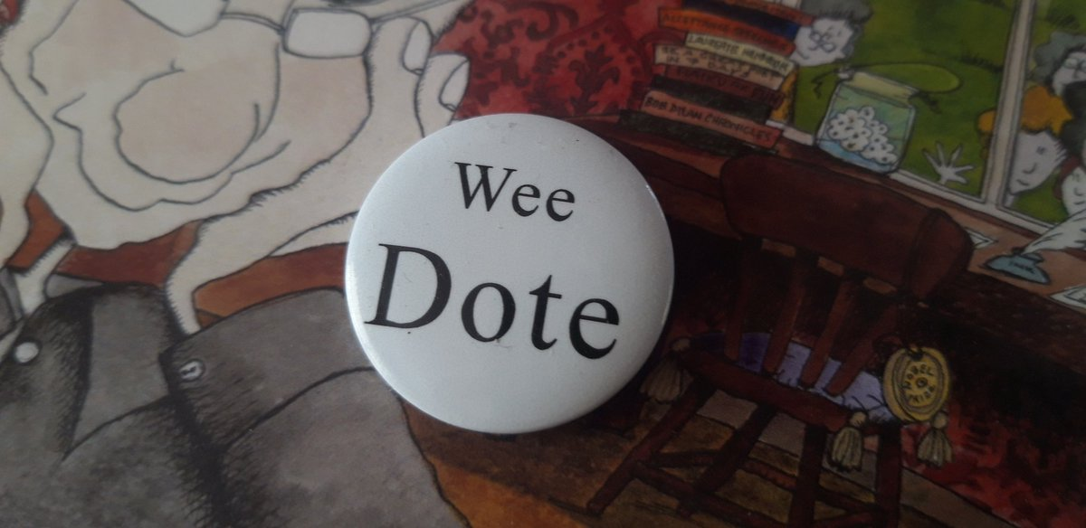 #MurrayTweetIndex? Puh. You're nobody unless you've been given a #WeeDote badge