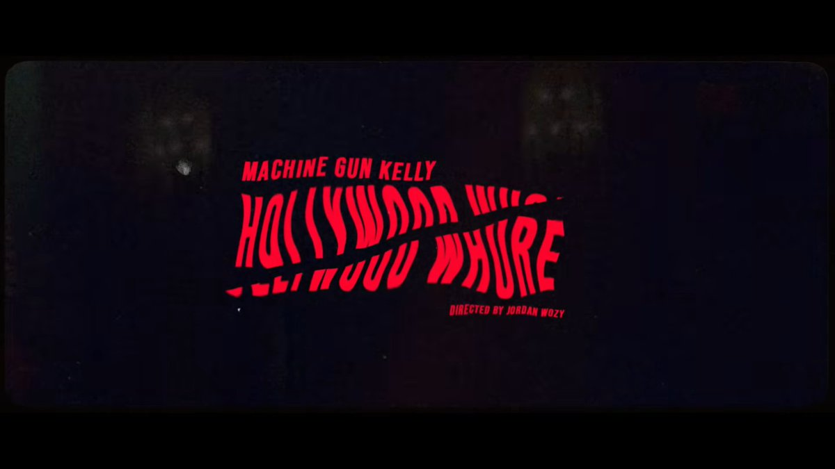 Happy 1st Birthday to the MV of Hollywood Whore <br>http://pic.twitter.com/1SyKX47P4a