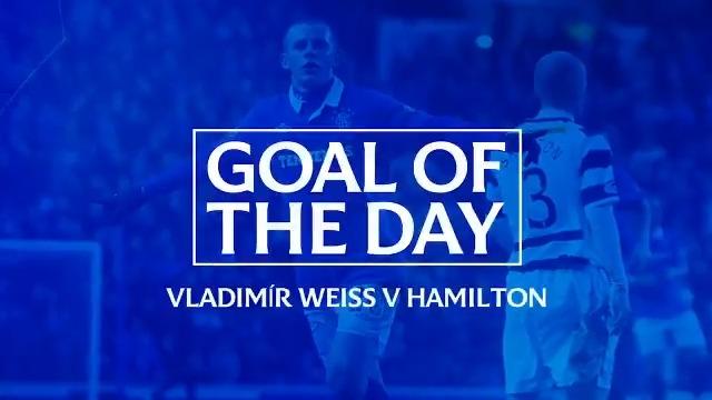 ⚽️ GOAL OF THE DAY: Vladimir Weiss v Hamilton