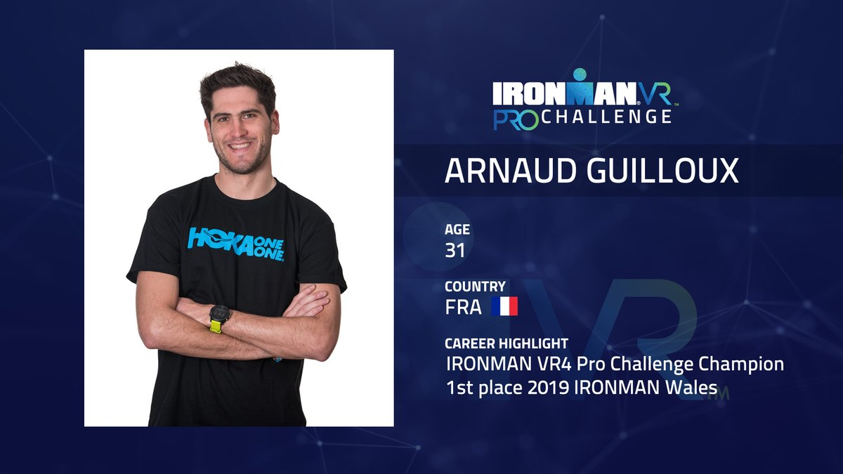 👑🏆 And heres a look at the male VR champions who will be competing during Sundays IRONMAN VR9 Pro Challenge! Whos your pick to win? @Arnaud_Guillx Jesper Svensson @samgolong @PatrickLange1 #IRONMANVR9 #AnywhereIsPossible