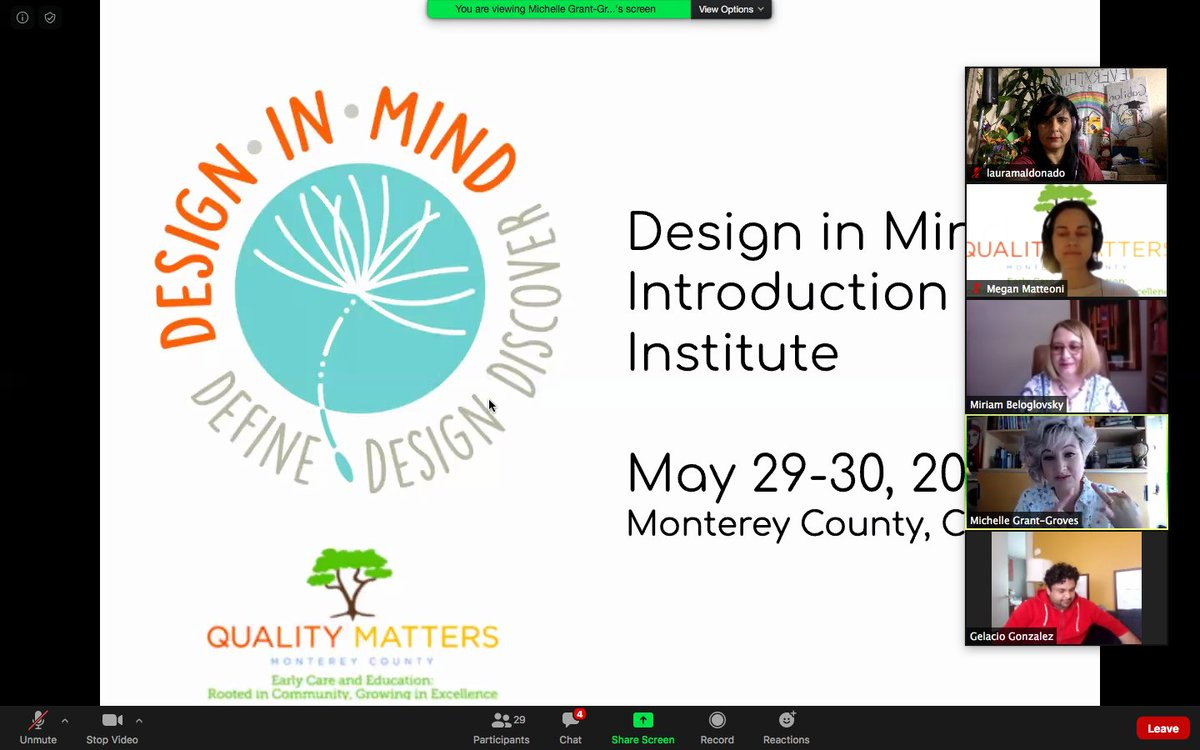 Let's do this ...... Design in Mind with Miriam Beloglovsky, Michelle Grant-Groves  #qualitymatters<br>http://pic.twitter.com/2Le8eb8wlu
