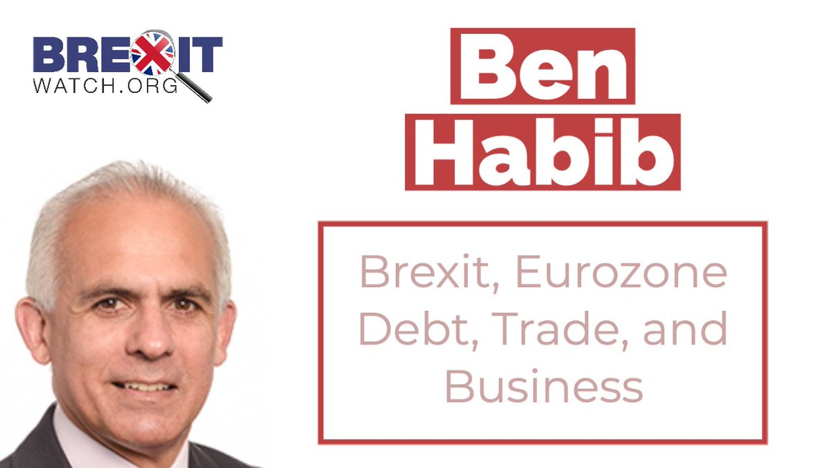 Ben Habib @benhabib6 on Brexit, Eurozone Debt, Trade, and Coronavirus. Brexit Watchs exclusive interview the former MEP, businessman, and Brexiteer. Watch and subscribe to our YouTube channel here 👉 youtube.com/watch?v=muL8z2…