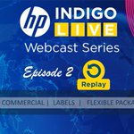 Image for the Tweet beginning: Recordings of HP Indigo LIVE