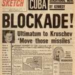 Image for the Tweet beginning: Cuban Missile Crisis of 1962.
