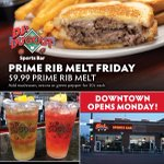 Fridays are for our FAMOUS $9.99 Prime Rib Melt! Plus, $7 32oz Long Island or Long Beach Ice Teas, & $6.50 32oz Domestic Draft Beers! 𝗗𝗝'𝘀 𝗠𝗶𝗿𝗮𝗰𝗹𝗲 𝗛𝗶𝗹𝗹𝘀 𝗶𝘀 𝗡𝗢𝗪 𝗢𝗣𝗘𝗡 for dine-in or carry out! Call to place an order here: https://t.co/duqkoKx1Ac