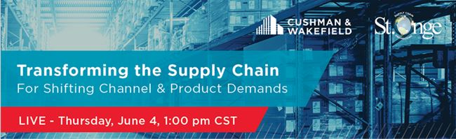 Transforming the #Supply-Chain for Shifting Channel & Product Demands -  #CRE #Jacksonville #2020 #Coronavirus #COVID19 #CRE #Cushman-Wakefield #Ecommerce #Industrial-Real-Estate #Logistics #Manufacturing