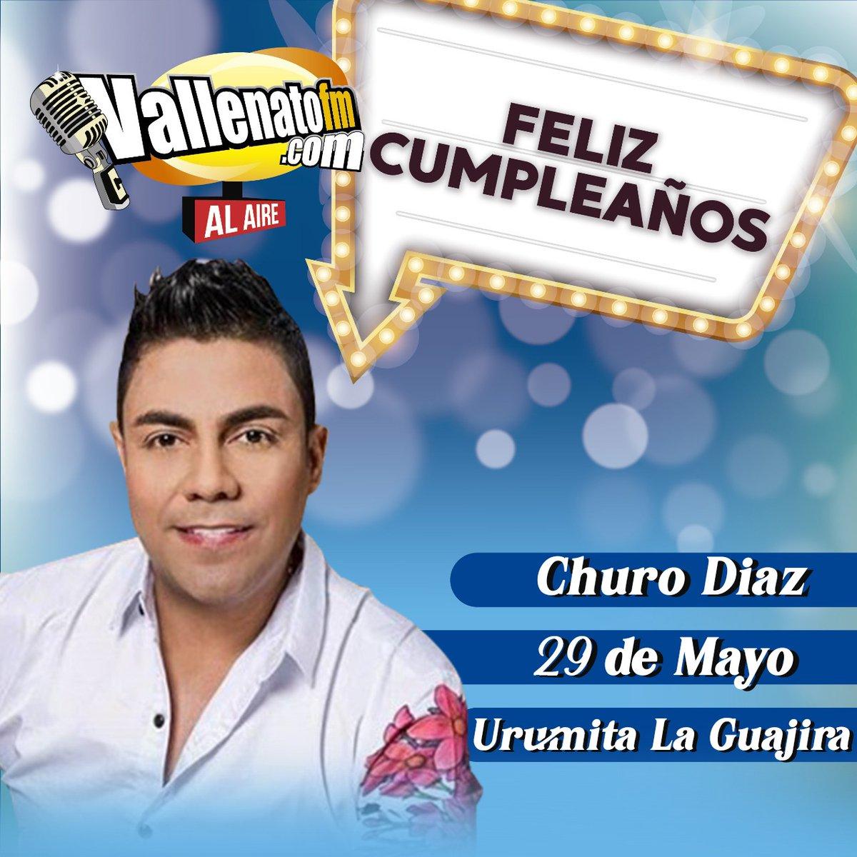 https://t.co/0RS18TIpsH felicita en su dia de cumpleaños a @CHURO_DIAZ muchas bendiciones https://t.co/TdcIoOTCN6