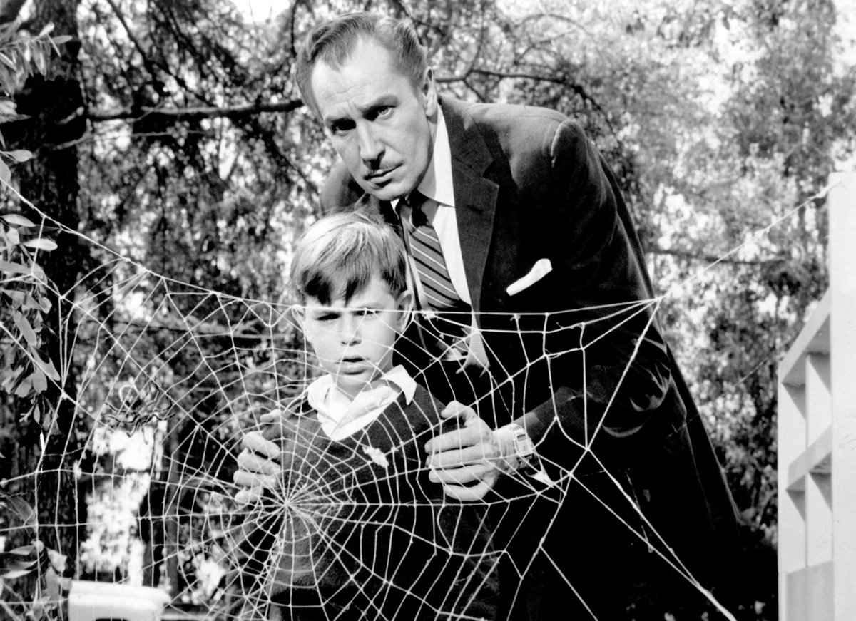 """""""help me! help me!"""" … VINCENT PRICE in THE FLY (1958) #horror #scifi pic.twitter.com/esz9tOlZn2"""