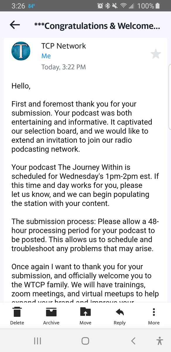 I'm grateful that my show is being picked up by a radio station  God is soooooo good and I will praise him forever!  When I first started this podcast I didn't know what to expect Im just speaking my heart and telling my truth but I'm ready for the next chapter!!   #MyJourney pic.twitter.com/JiAP83xnad