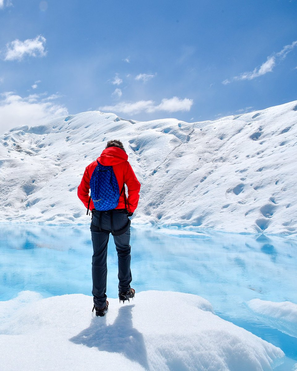 Sentí la magia del #glaciar fundiéndose con la línea del horizonte y no distinguir su final. Descubrí este paisaje invernal desde la comodidad de tu hogar y #ViajaDesdeTuCasa  @SantaCruzTur @ElCalafateOK  #VisitArgentina #Patagonia #QuedateEnCasapic.twitter.com/rof8LapHuu
