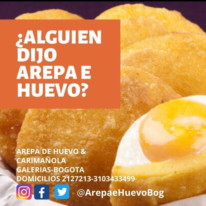 Arepa E Huevo Y Carimanola Arepaehuevobog Twitter