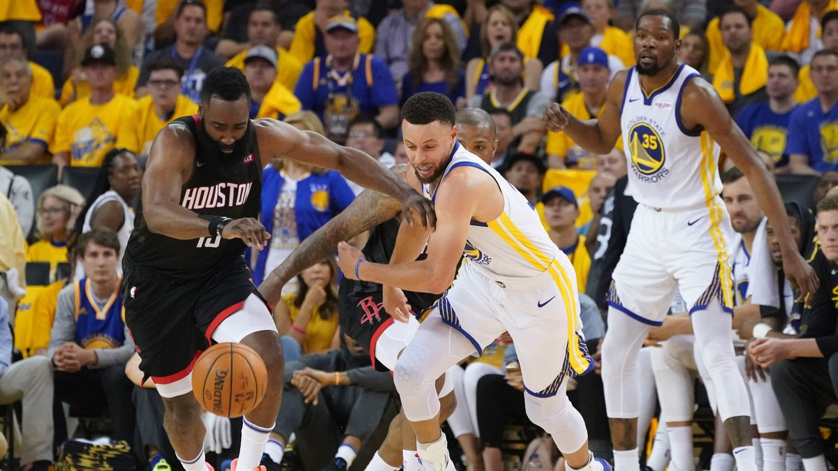 James Harden shed weight while preparing for the playoffs, but having Steph and the Warriors out of the picture might be a much bigger help https://t.co/AWCqjUErEF https://t.co/RI5LfDHn6i