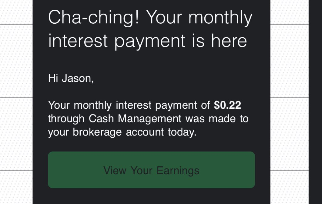 When you know you made it in life. #selfmade #InterestRate