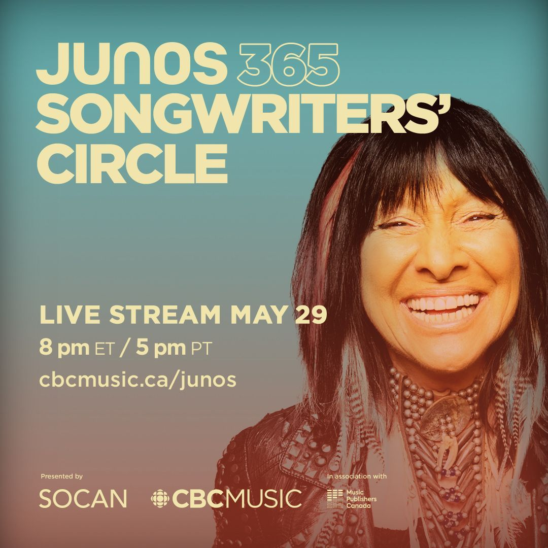 I feel that audiences for these particular songs are more ripe than ever for understanding and using the songs. So in that way, it's an opportunity to reach people with good medicine. Catch @BuffySteMarie on tonights #JUNOS 365 Songwriters Circle: bit.ly/2yKIWtf
