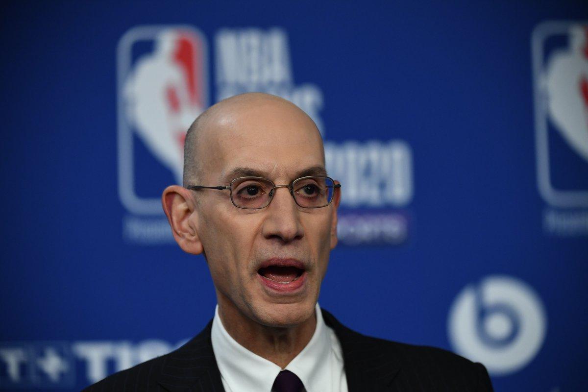 """Se espera que los propietarios de la #NBA aprueben el jueves la recomendación de Adam Silver de """"reiniciar la temporada en Orlando"""".  Vía @wojespn https://t.co/yKcUIM6VRa"""
