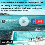 Image for the Tweet beginning: Controllable Cameras and Facebook LIVE