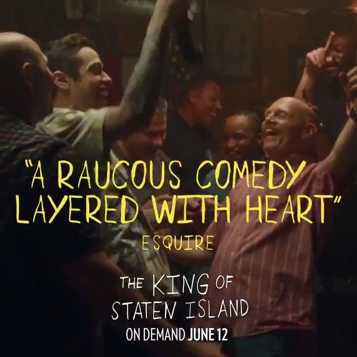 2 weeks. see #TheKingofStatenIsland on demand june 12.