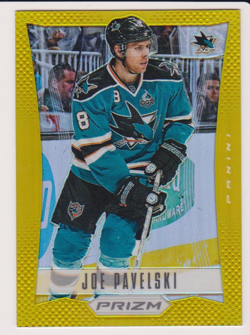 2012-13 Panini Prizm Gold #41 Joe Pavelski  10/10 https://t.co/f4l7R0Kmst