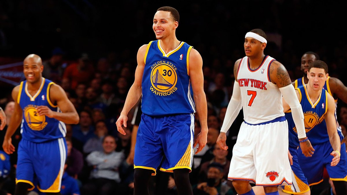 It was the game that changed everything.  How Steph's 54 points vs. Melo and the Knicks put the NBA on notice for what was to come (via @loganmmurdock) https://t.co/0Hgyewvqxi https://t.co/gj302I6Xgg