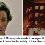 Image for the Tweet beginning: Minneapolis Mayor Frey, the poster