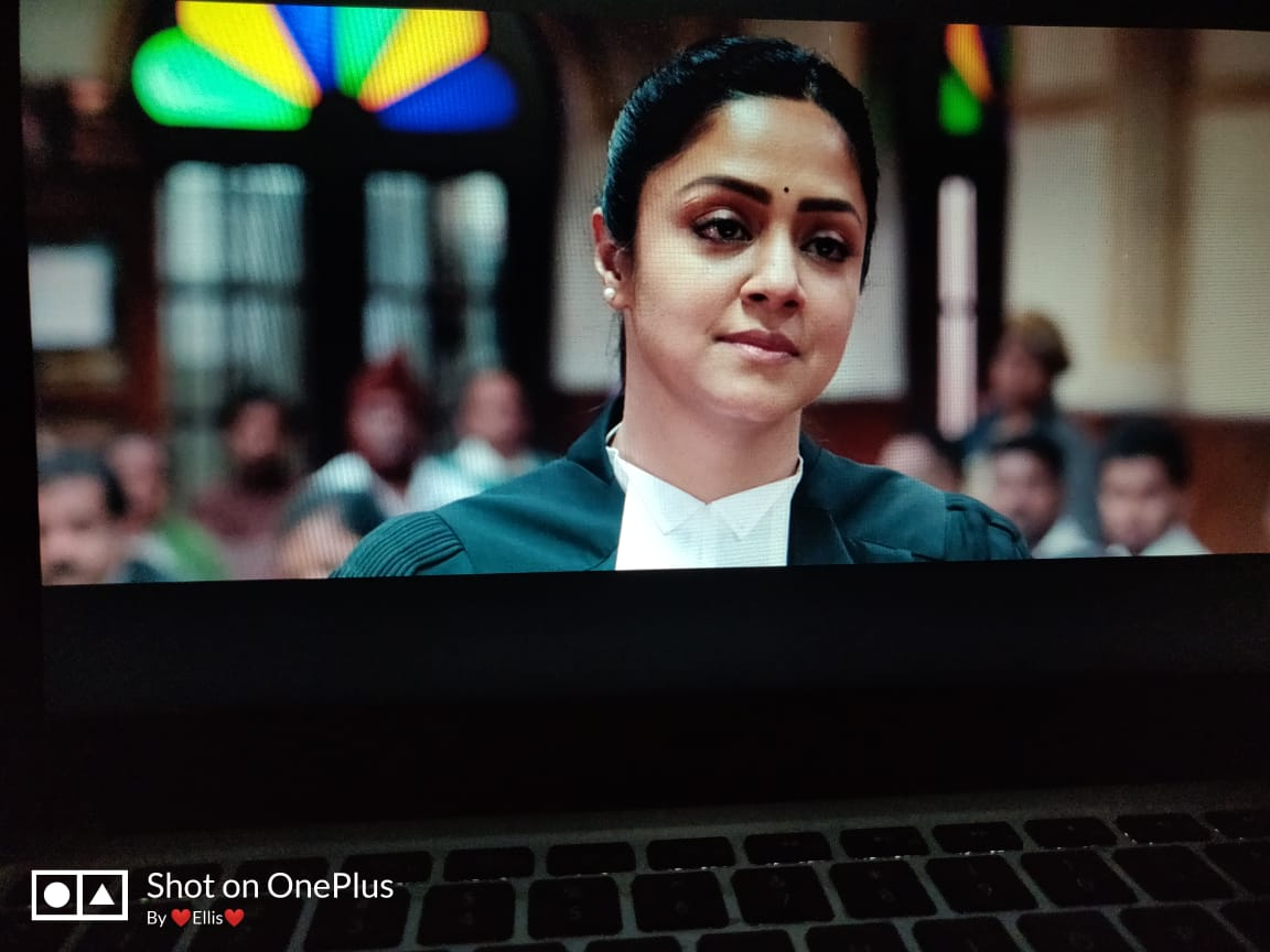 #PonmagalVandhalOnPrime #Venba nailed it. Outstanding performance from entire cast. Jyothika again nailed the performance. Dialogues, BGM was good with the flow of movie. #Jyotika #SuryaSivakumar  3.75/5 pic.twitter.com/z7z8fg0Vrj