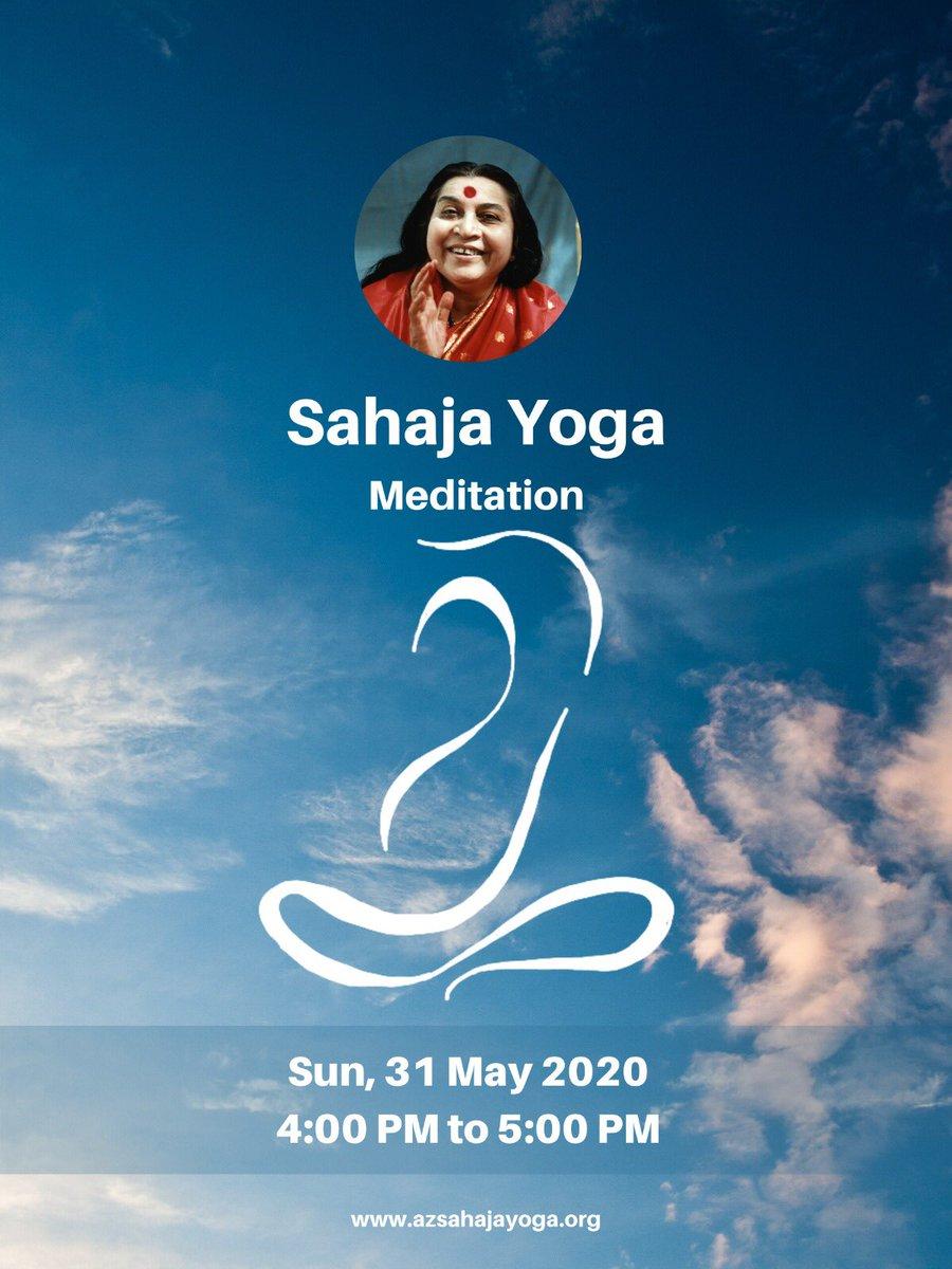 Sahaja Yoga Meditation Phx Sahajayogaphx Twitter