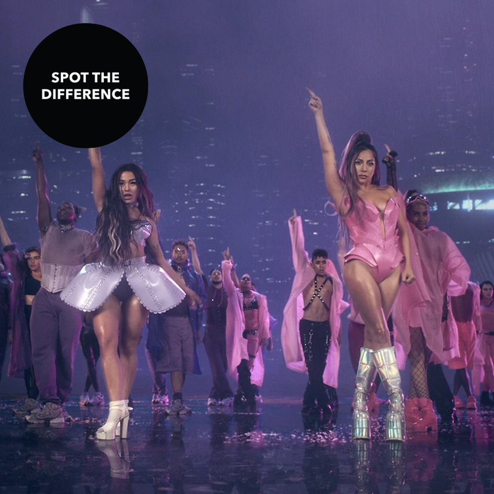 Can you spot all 6 differences? Tell us in the comments 👇 #LadyGaga #ArianaGrande #RainOnMe #Chromatica https://t.co/QBLueIZ4rv