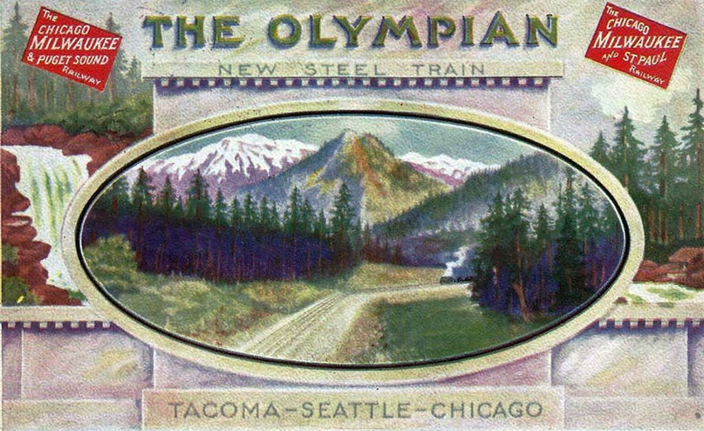 #OnThisDay in 1911, the Chicago, Milwaukee & Puget Sound Railway inaugurated twice-daily service between Tacoma and Chicago. historylink.org/File/10999