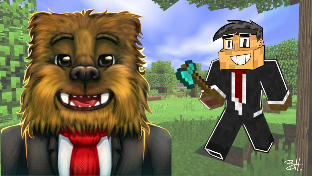 JEROMEASF shows me the OTHER side of Minecraft! https://t.co/oouik02CSq https://t.co/pVNkFz15AG